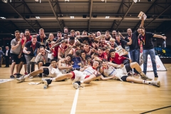 NBBL/JBBL TOP4 2019  NBBL Finale: FC Bayern München - TSV Tröster Breitengüßbach   Foto: Sven Kuczera