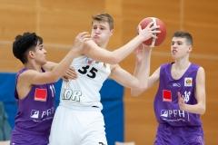 Basketball, Düsseldorf 17.10.20, JBBL Vorrunde Gruppe 2., 2. Spieltag, Saison 2020/2021 ART Giants Düsseldorf - BG Göttingen Youngsters