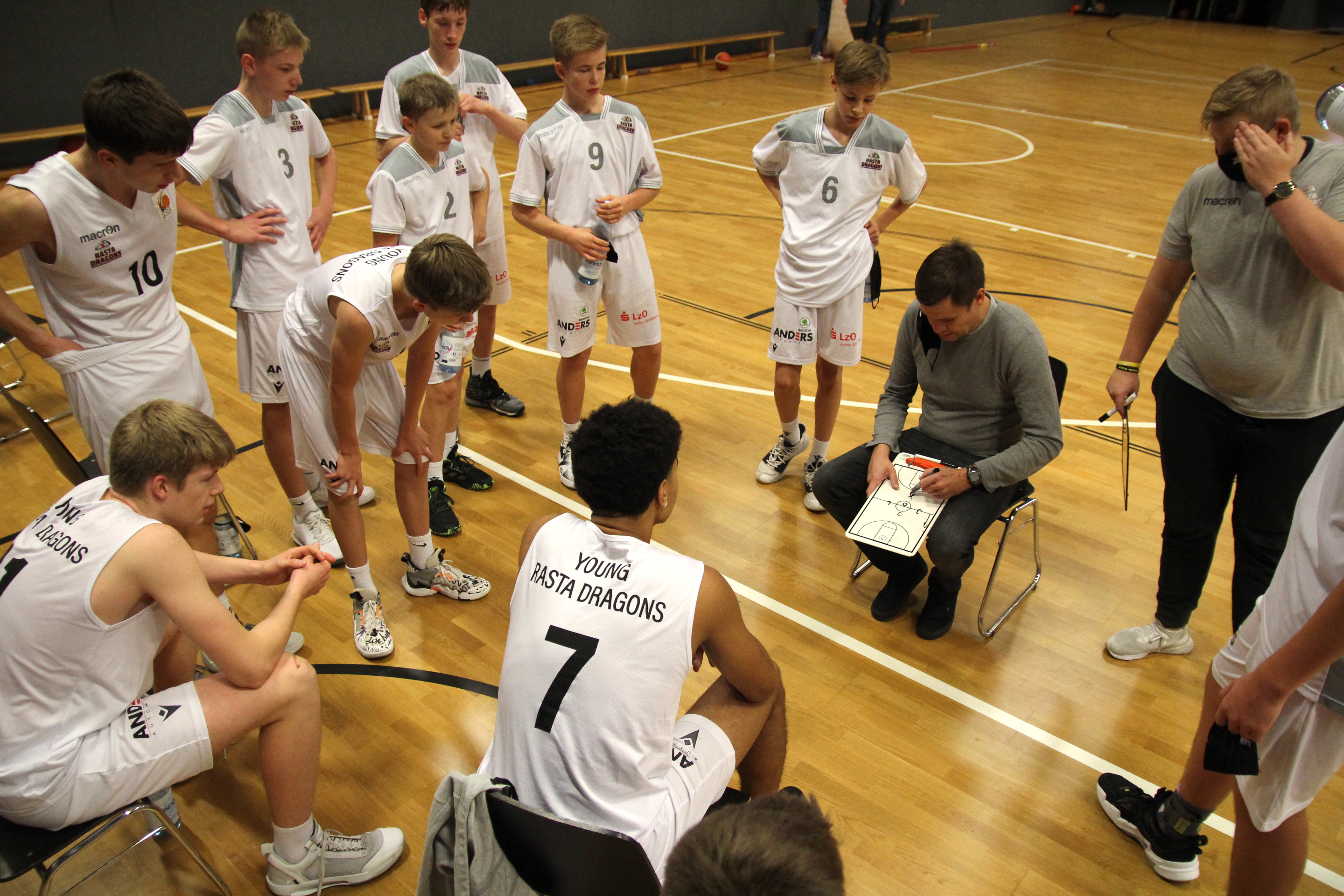 JBBL_20-21_YOUNG-RASTA-DRAGONS_Paderborn_Spieltag2_Team